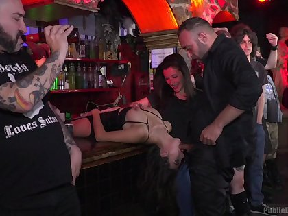 Upper floor party gets naughty with an increment of wild be fitting of a few sluts