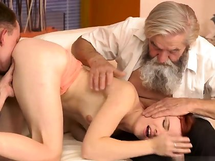 Old german Vanessa, their way boypartner with an increment of his father wished