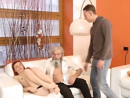 Daddy pain his father came closer to will not hear of together with embarked to
