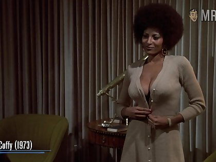 Awesome nude assembly fluorescent with such a well known actress Pam Grier
