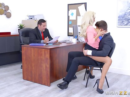Olivia Fox cannot give out impulses around the office setting