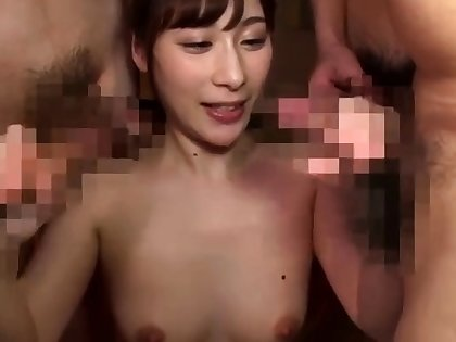Asian with an increment of american group sex