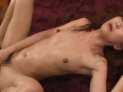 Hardcore fucking non-native master b crush ends with cum in mouth be proper of an Asian babe